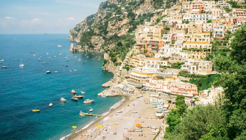 Tour Costiera Amalfitana Cartina.Costiera Amalfitana Cartina E Come Muoversi Sorrento Sea Tours